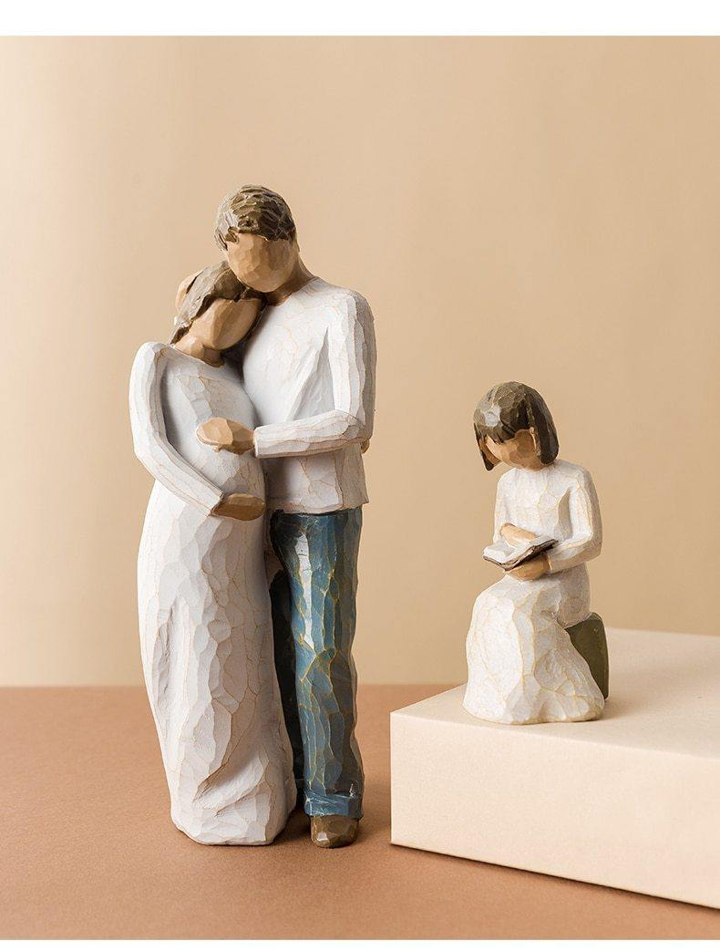 Family Figurine Collection - Hop Decor