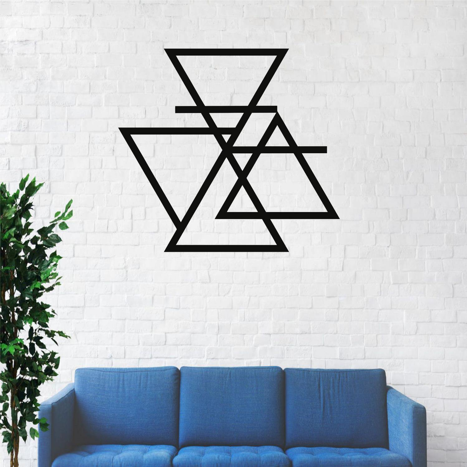 Four Elements Metal Wall Art - Hop Decor