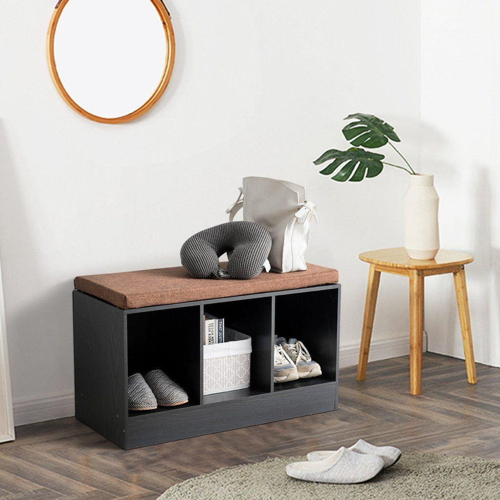 3-Cube Shoe Bench - Hop Decor
