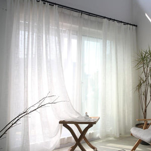 White Heather Curtains