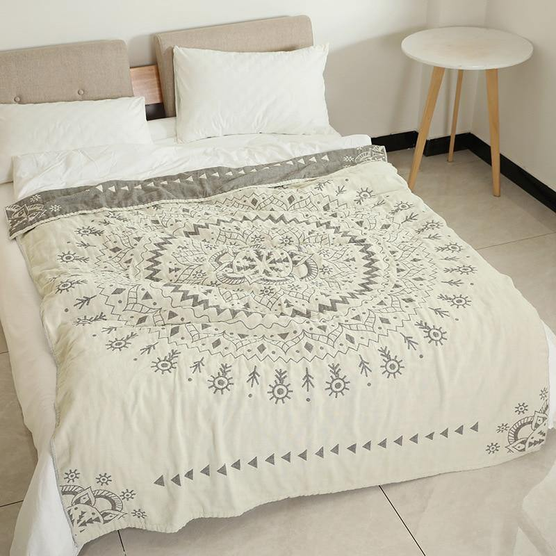 Mandala Throw Blanket - Hop Decor
