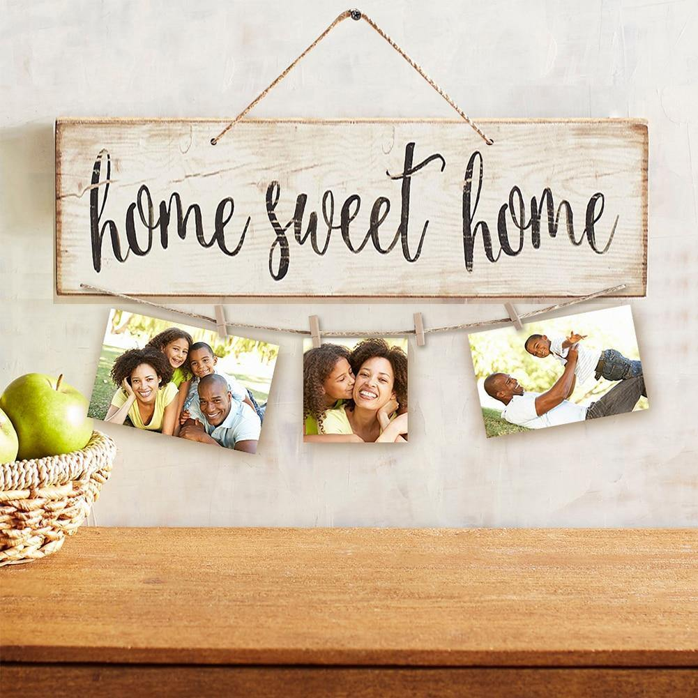 Vintage Sweet Home Wall Hanging