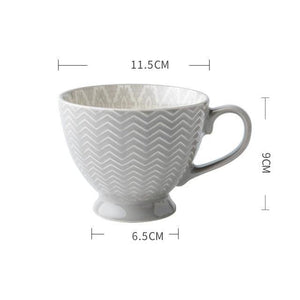European Breakfast Cup - Hop Decor