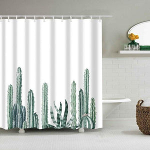 Cactus Shower Curtain Collection