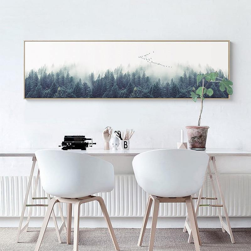 Scenic Landscape Canvas Art - Hop Decor