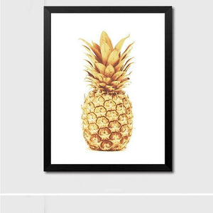 Pineapple Motivation Canvas Poster - Hop Decor