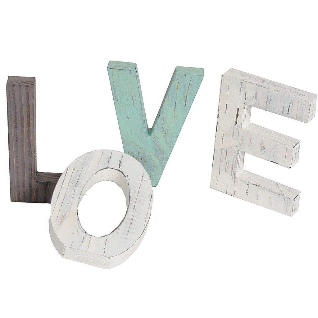 Letters of Love Home Decor