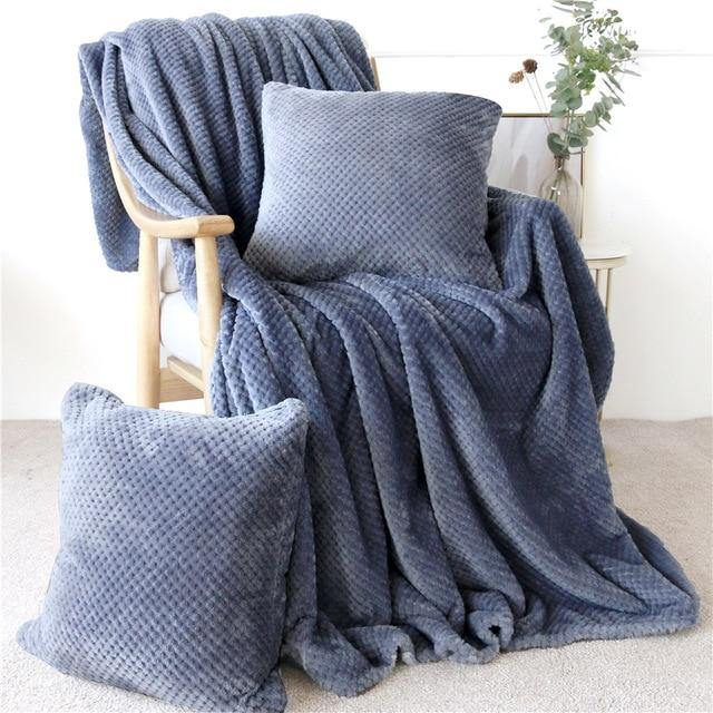 Pitted Fleece Blanket