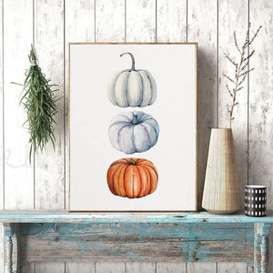Color Pop Pumpkin Wall Art