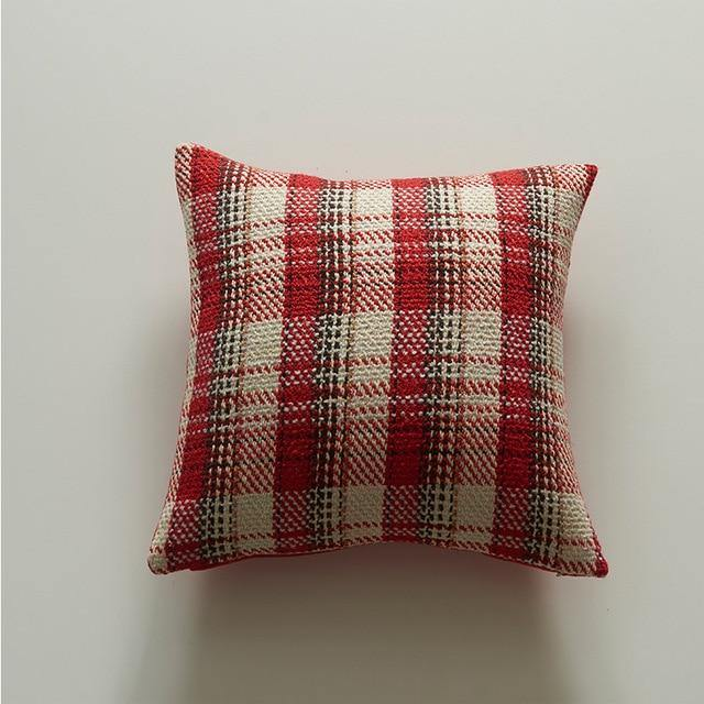 Christmas Plaid Pillow Case