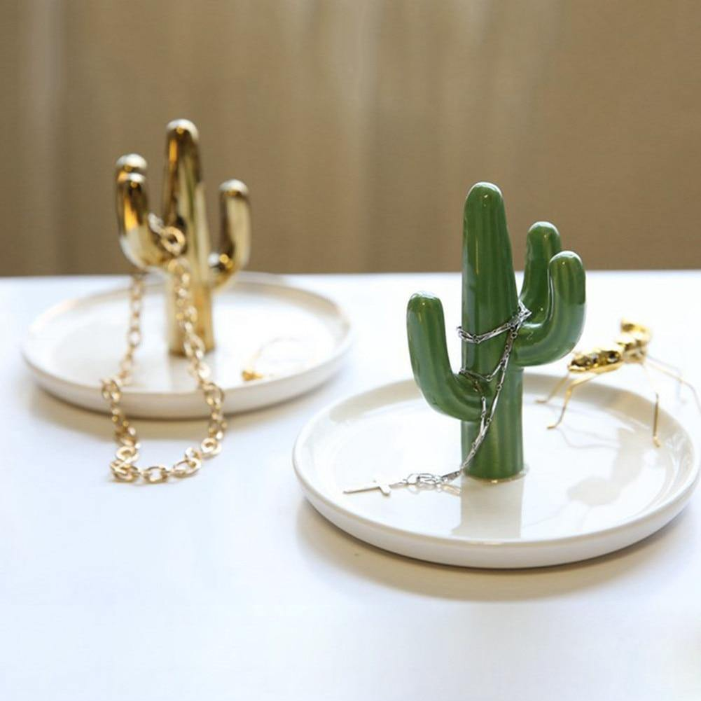 Cactus Jewellery Dish - Hop Decor