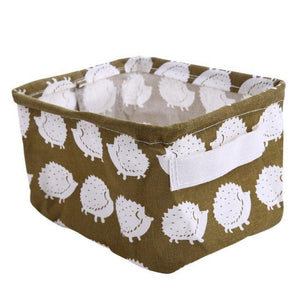 CARINA Printed Storage Baskets - Hop Decor