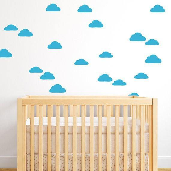 Cloud Wall Stickers - Hop Decor