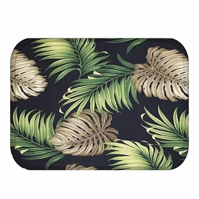 TEPIH Tropical Anti-Slip Floor Mat - Hop Decor