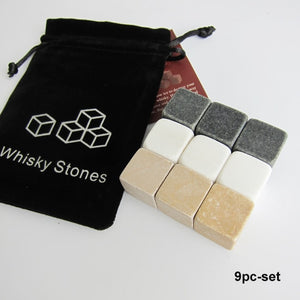 Natural Whiskey Stones - Hop Decor