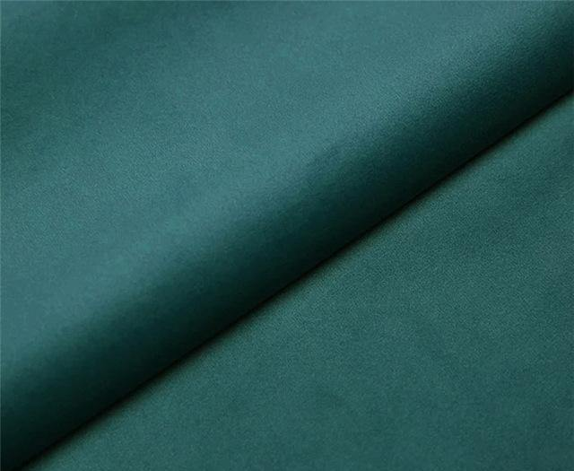 VELUDO Blue-Green Velvet Curtains - Hop Decor