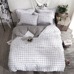 Simple Lattice Bedding Set - Hop Decor