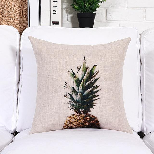 Minimalist Plant Cushion Cover Collection