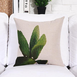 Minimalist Plant Cushion Cover Collection - Hop Decor