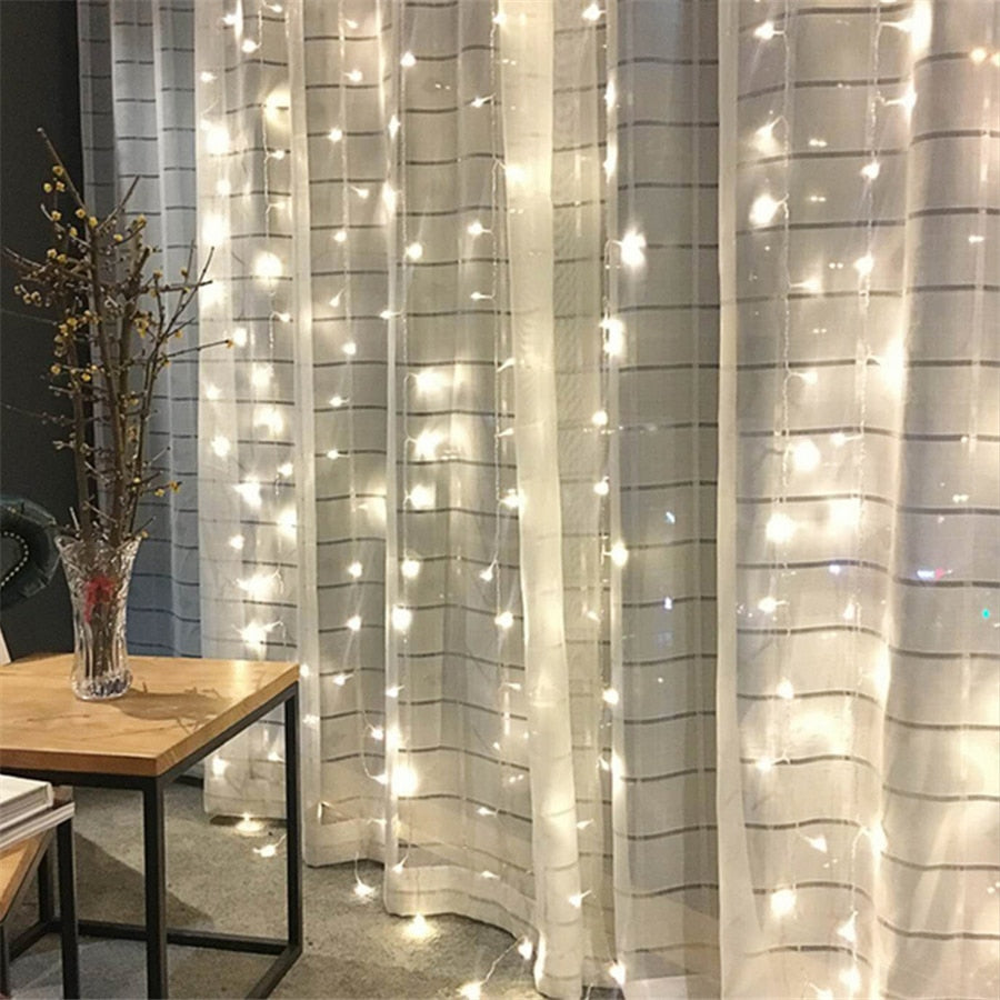 LED Curtain String Lights - Hop Decor
