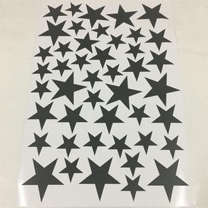 Little Star Wall Stickers (45pcs) - Hop Decor