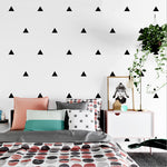 Triangle Wall Stickers - Hop Decor