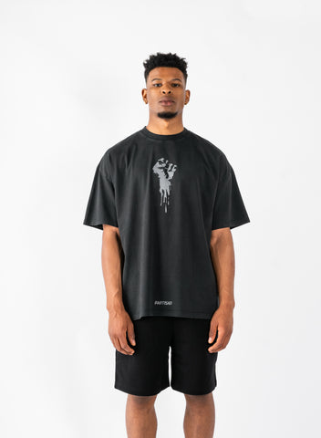 Defiance T-Shirt - Washed/Steel