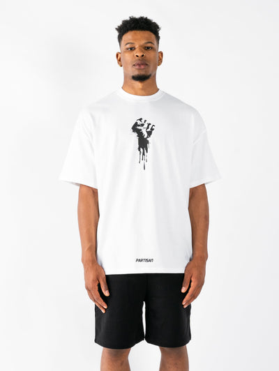 Defiance T-Shirt - White/Black