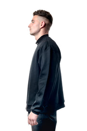 High Neck Sweater - Black
