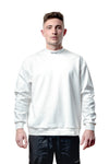 High Neck Sweater - White