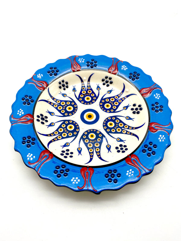 Small Ceramic Plates - 7 inches
