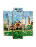 Magnet - Triptych of Turkey
