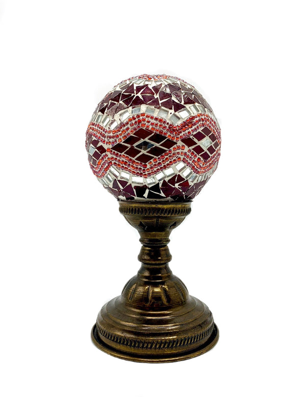 Round Globe Table Lamps - 2 colors