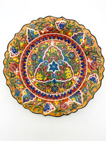 Large Ceramic Plate -12 inches