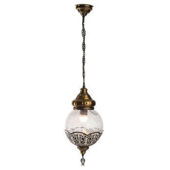 1 Globe Ceiling Lamp - Large