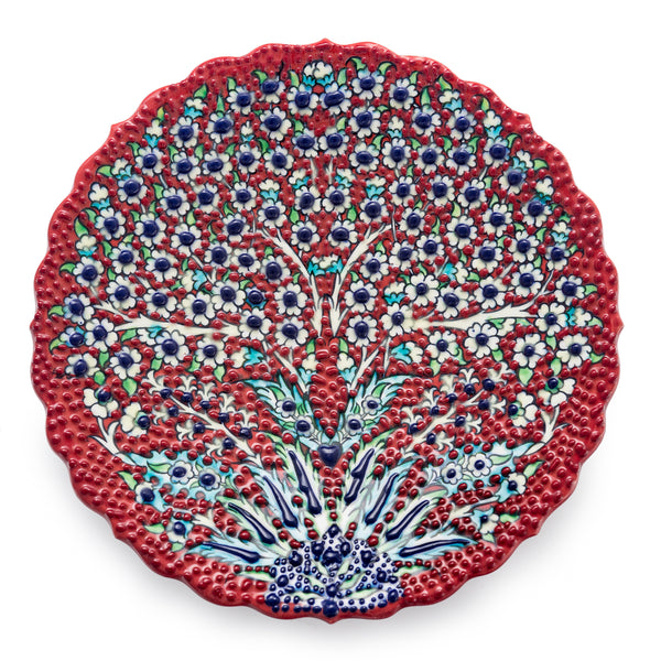 Small Ceramic Plate - Tree of Life