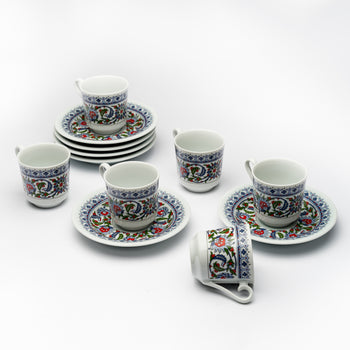 Porcelain Coffee and Tea Set