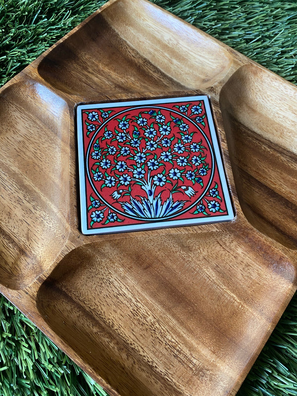 Emir Wooden Plate - Tree of Life