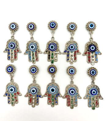 Small Hamsa / Evil Eye Magnets