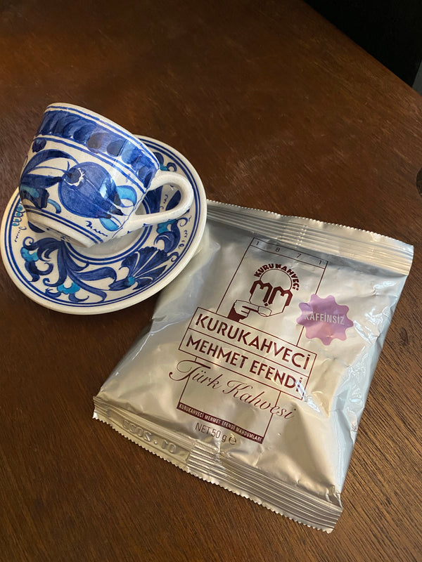 Turkish Coffee Mehmet Efendi - Decaffeinated