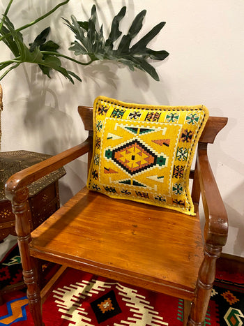 Kilim Pillow Covers - Yellow