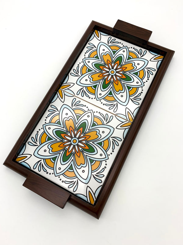 Tarkan Tiled Tray - different designs