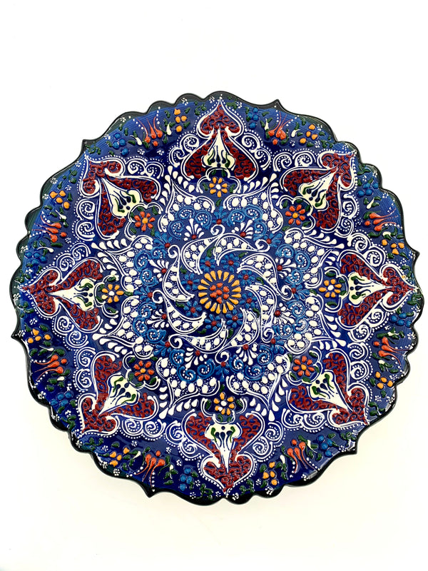 Large Kutahya Plate - 12 inches