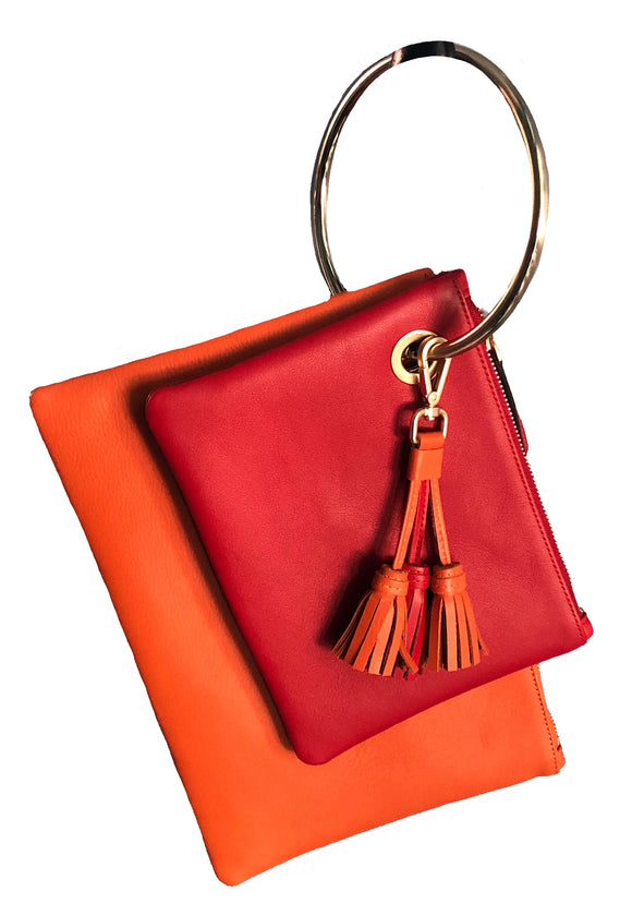 NINU Twin Clutch orange/red