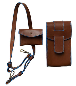 LAVINIA Leather Cross-Body