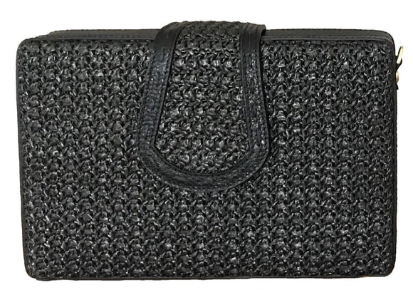 ELIF Raffia Evening Clutch