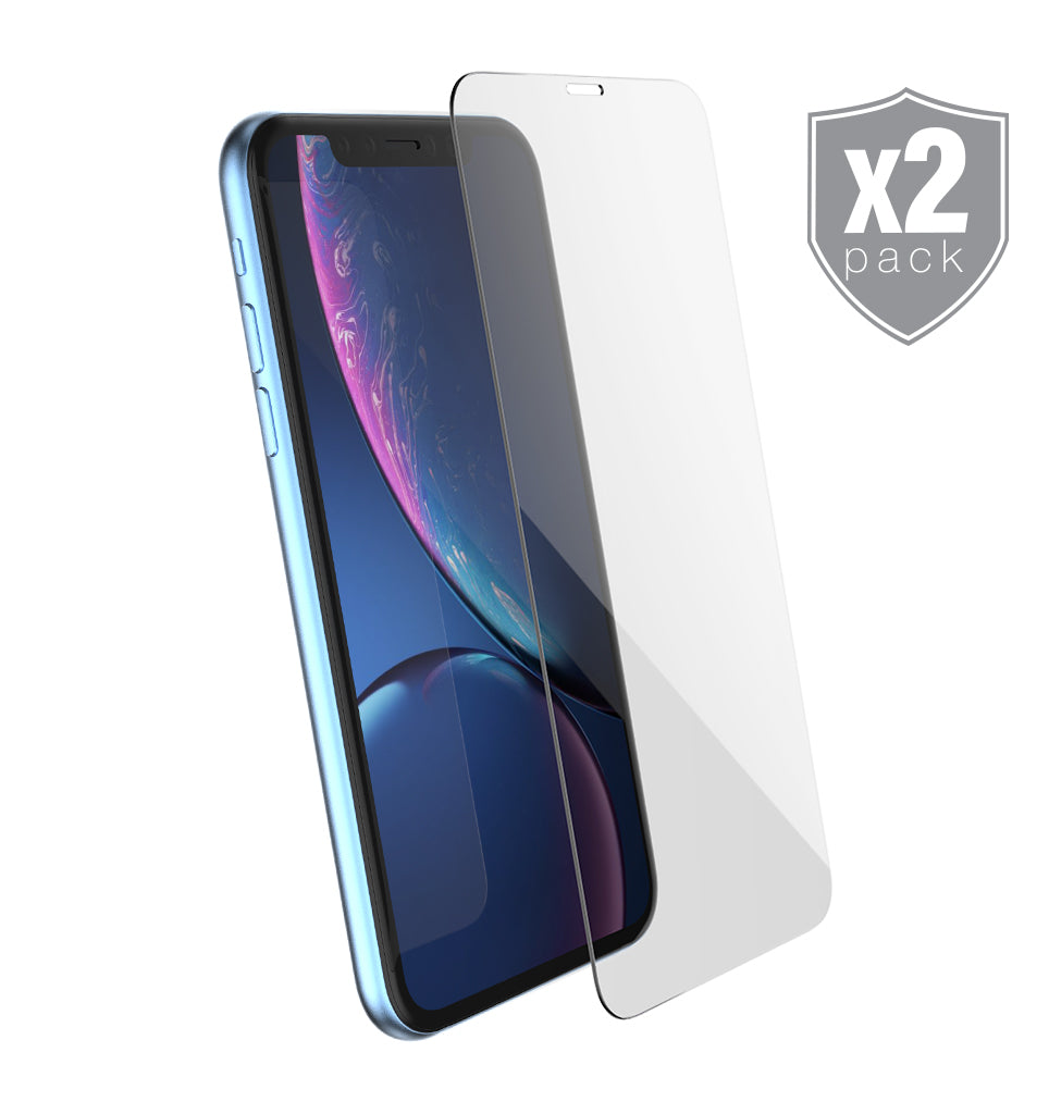 Premium Tempered Glass Protector 2-Pack / iPhone Xr - Ballistic