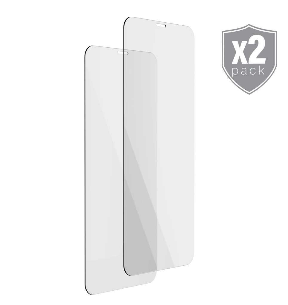 2-Pack Premium Tempered Glass Protector - Ballistic