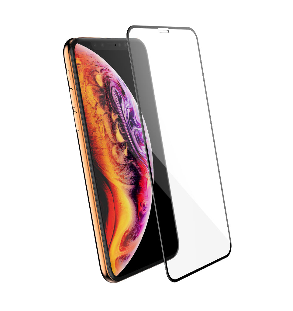 Full Edge Tempered Glass Protector / iPhone Xs - Ballistic