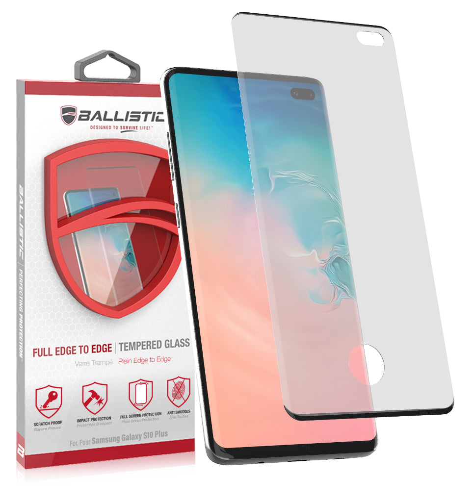 Full Edge Tempered Glass Protector - Ballistic